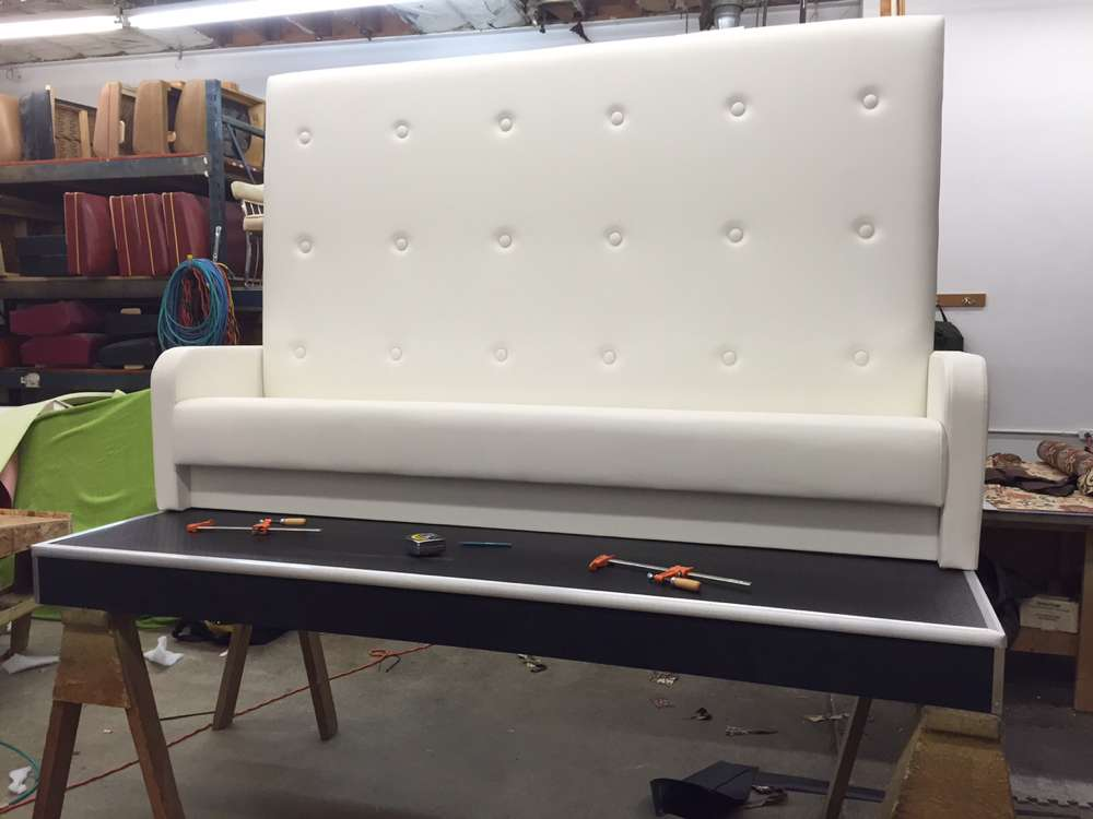 white sofa build