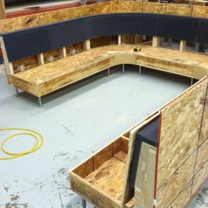 building a U shaped booth