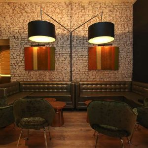 Rioja Lounge booths and chairs