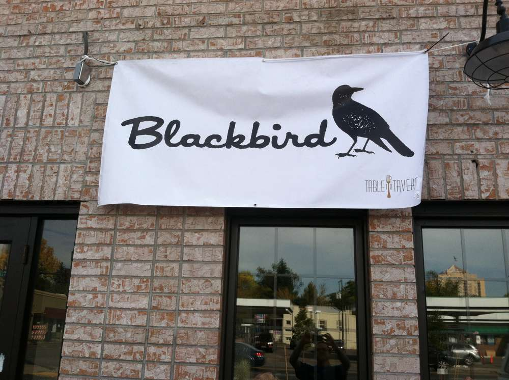 Blackbird entrance
