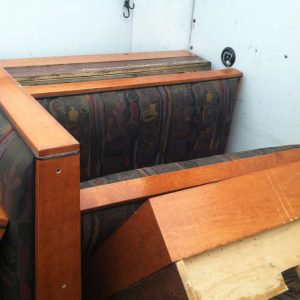 old booth backs