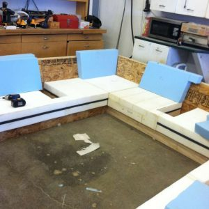 building a custom sofa