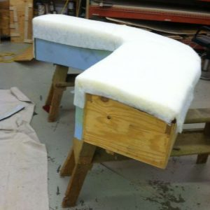 adding new padding to an old sofa