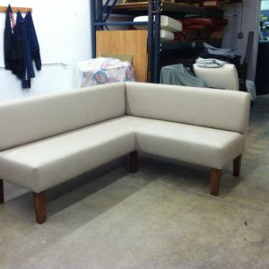 finished corner sofa